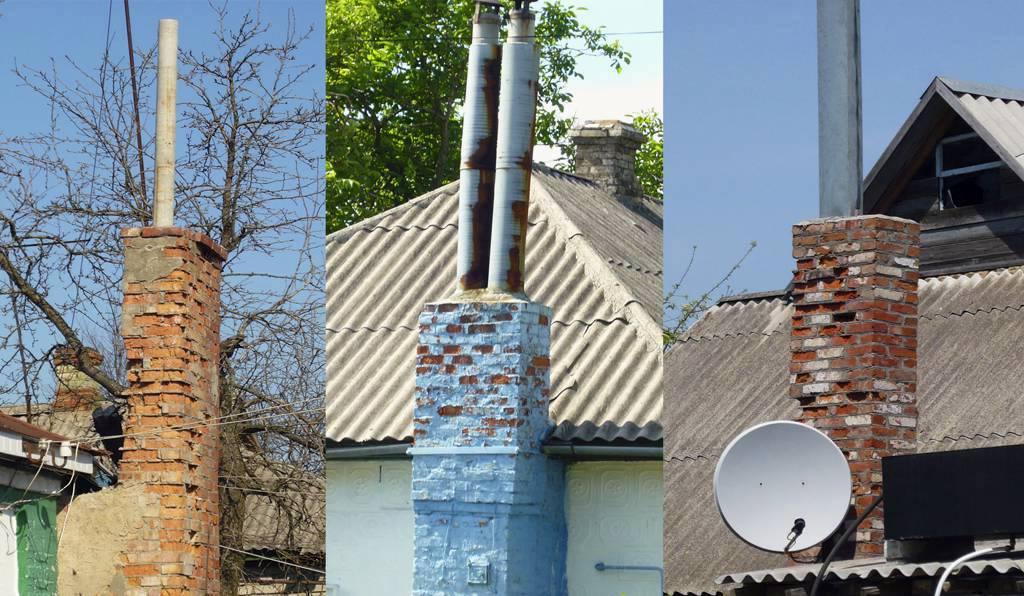 Асбестовая труба для дымохода: можно ли использовать асбестоцементную печную трубу для газового котла