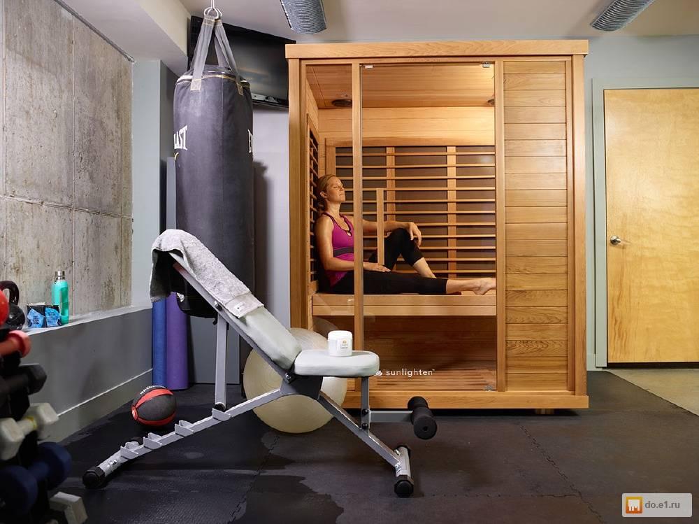 Инфракрасная сауна для похудения, как сбросить вес в бане после тренировки | доктор борменталь