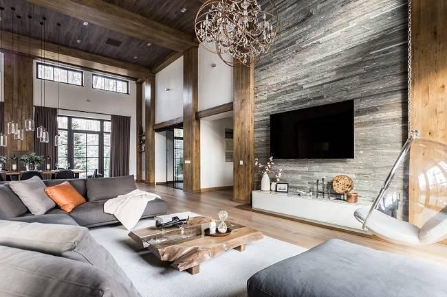 Дома в стиле шале – отличительные особенности архитектурного построения