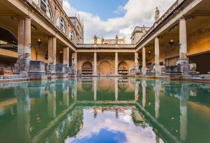 Первые бани в мире в разных странах