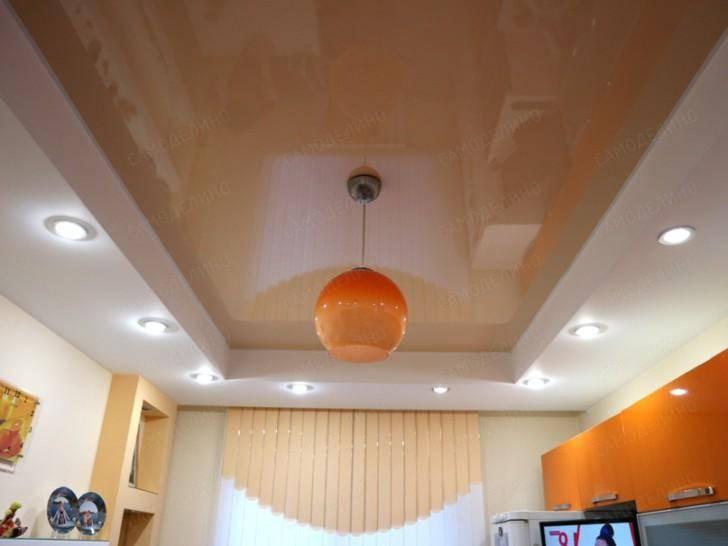 Экологически чистые потолки - виды и особенности