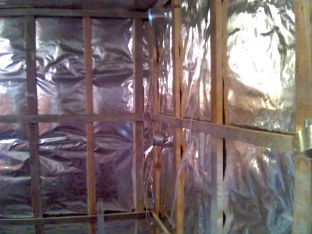Утеплитель для бани на стены изнутри: с фольгой и без, почему внутри, виды, особенности