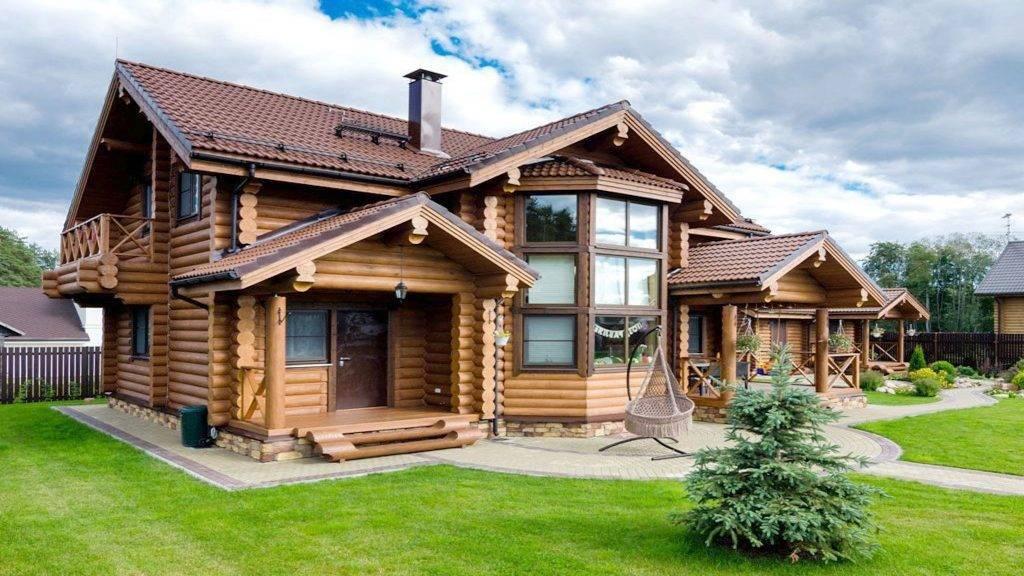Дома из круглого бруса: проектирование и этапы строительства, от чего зависит цена и примеры проектов