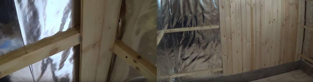 Как обшить баню внутри вагонкой своими руками