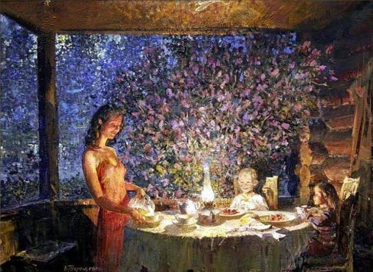 Русская баня на фото и картинках разных художников во все времена
