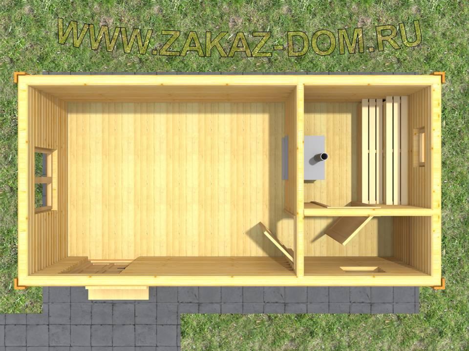 Планировка бани размером 4х6: мойка и парилка отдельно (60 фото) варианты построек размером 4 на 6, план отделки внутри, чертежи и схемы конструкций