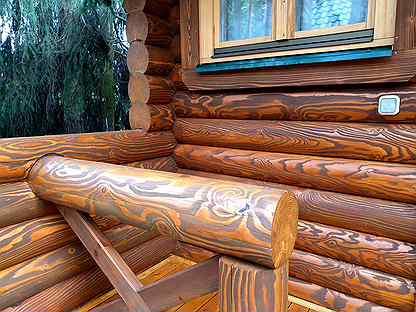 Чем покрасить сруб бани снаружи? - дизайн интерьеров, фото журнал remontgood.ru