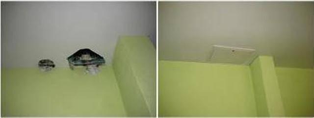 Ремонт натяжных потолков после пореза - все способы реставрации!