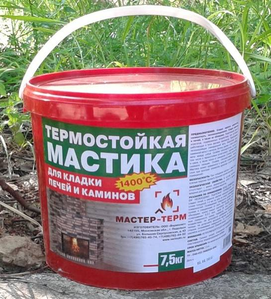Герметик высокотемпературный для печей: назначение, выбор, применение