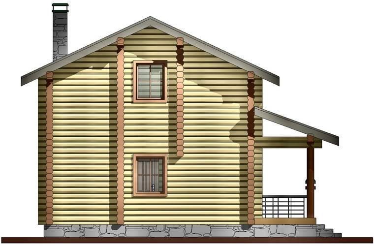 Двухэтажная баня из бруса с мансардой: как построить своими руками