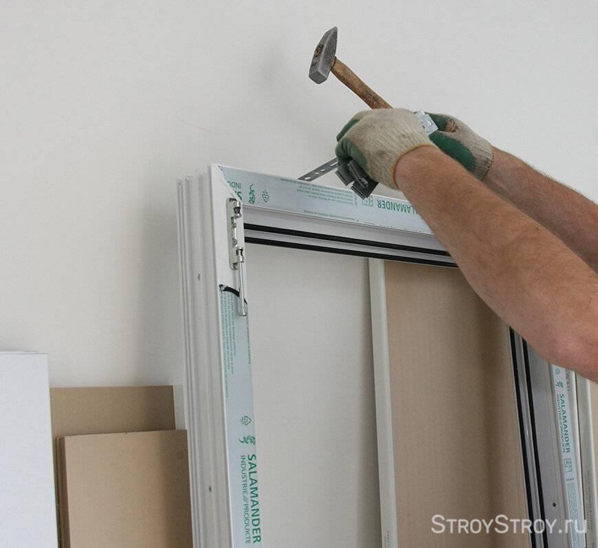 Как установить пластиковые окна своим руками