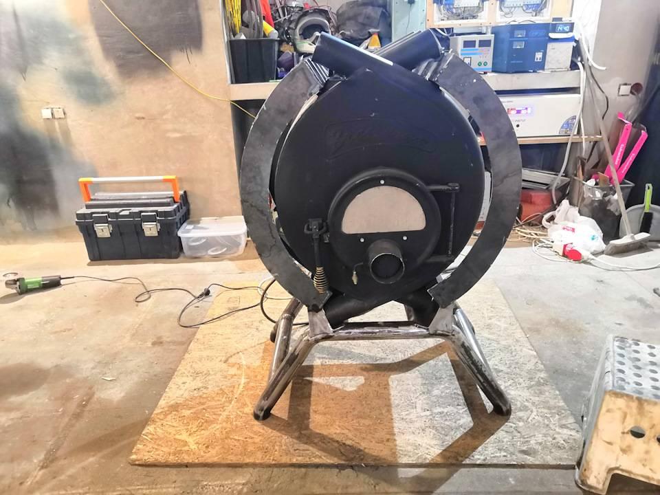Печь булерьян: руководство по изготовлению самодельной конструкции