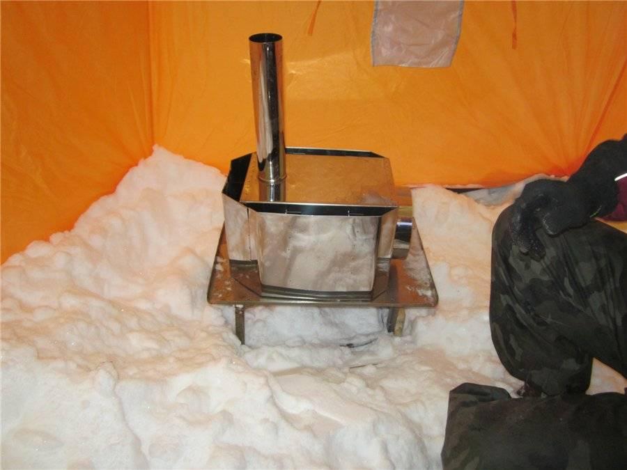 Обзор печей для походной бани: самодельные и покупные