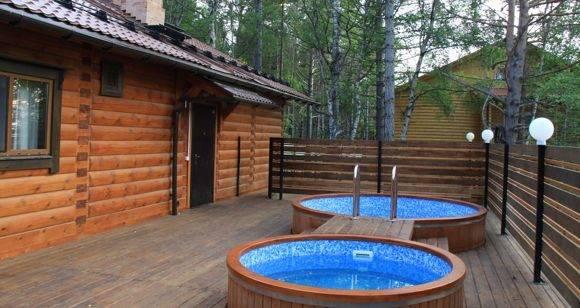 Проект бани с бассейном: на что нужно обратить внимание