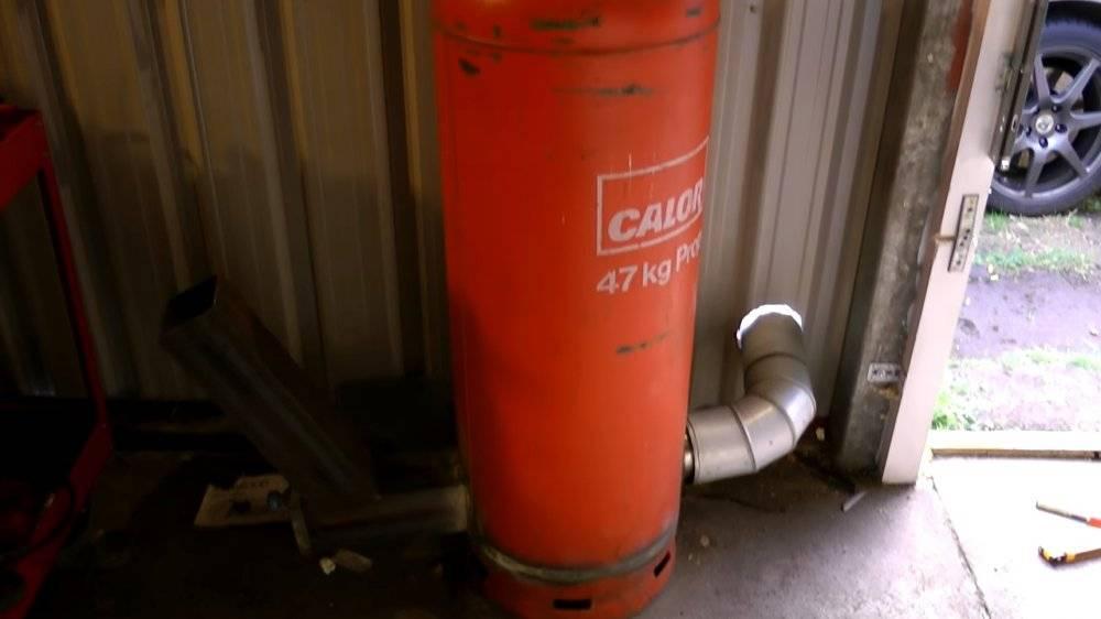 Ракетная печь из газового баллона своими руками: инструкция с фото