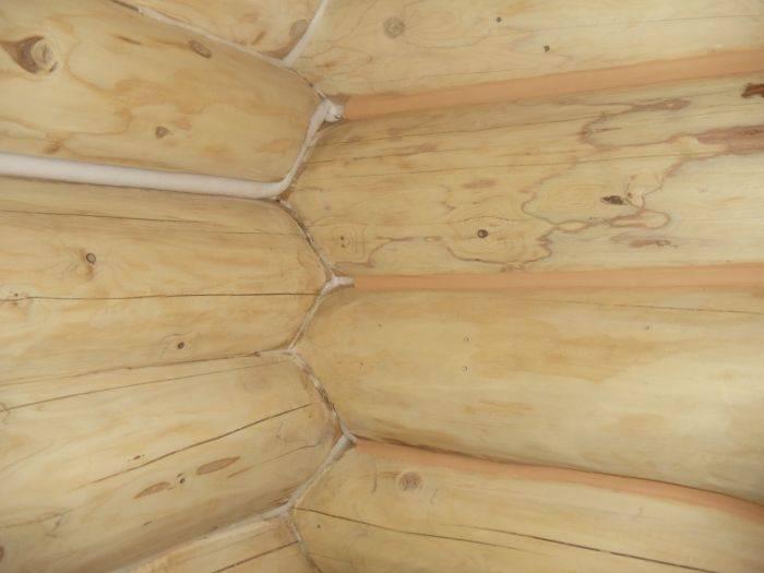 Как и чем можно заделать трещины в брусе? — expertbrusa.ru