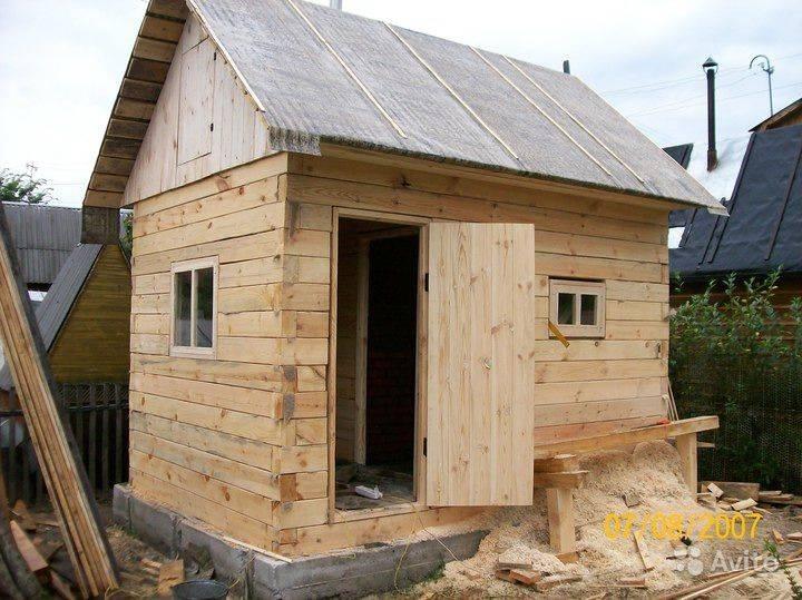 Небольшая баня из бруса 3х4 своими руками: подробная инструкция по строительству!