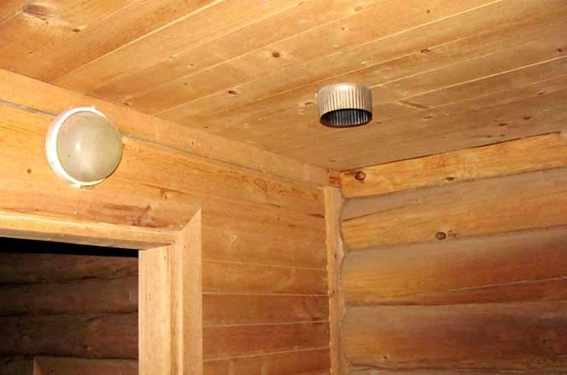 Как сделать вентиляцию в бане: вытяжка для парилки, сауны, предбанника, устройство и схема, пошаговое руководство и видео