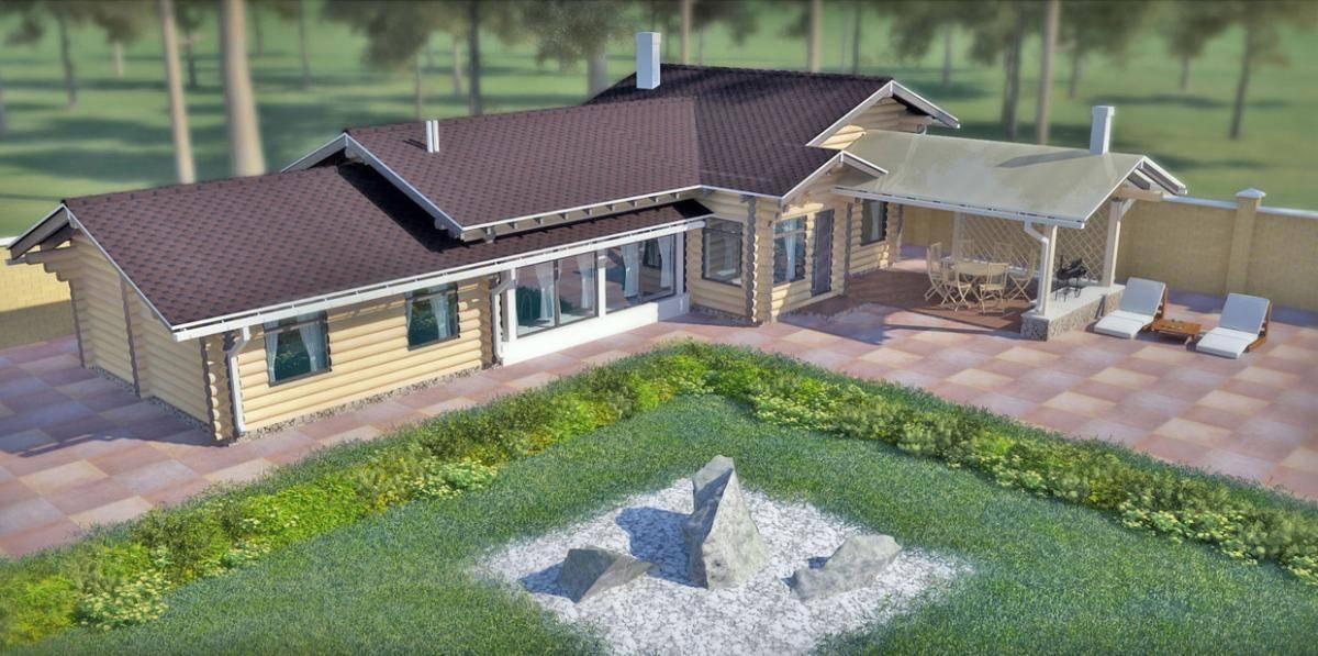 Планировка и проекты домов с гаражом и баней под одной крышей