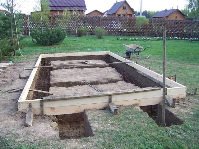 Баня из шпал своими руками строительство и ремонт бани