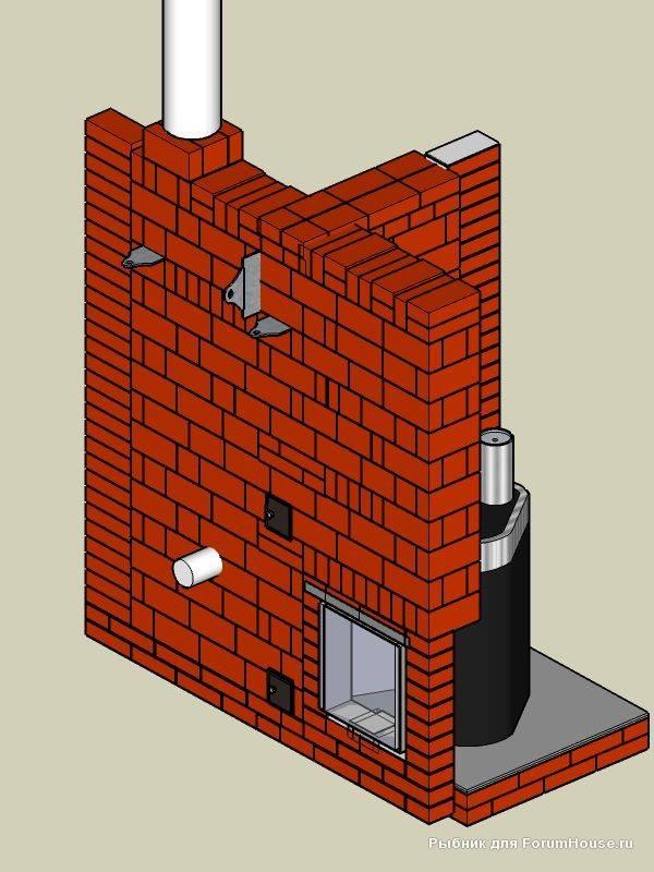 Отопительный щиток: инструкция по кладке своими руками, конструкции с варочной плитой, камином, топкой, двухколпаковый, угловой, видео, цена, фото