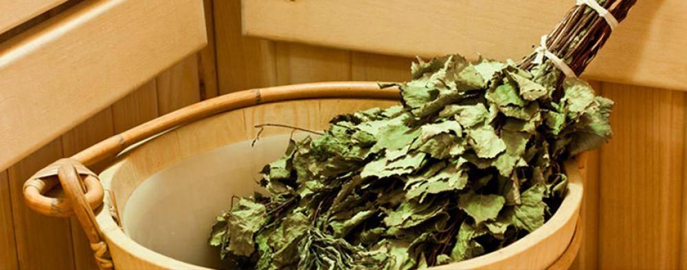 Как правильно запарить дубовый веник для бани? в какой воде замачивать сухой веник?