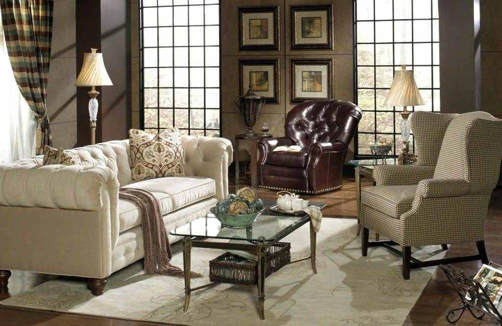 Как сочетать разную мебель в одном помещении?   домфронт