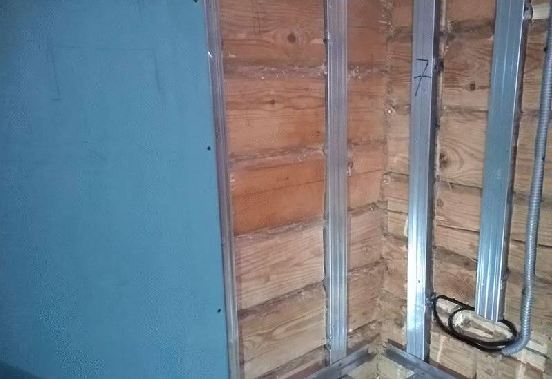 Как обшить стены гипсокартоном в деревянном доме своими руками за 5 шагов | дневники ремонта obustroeno.club
