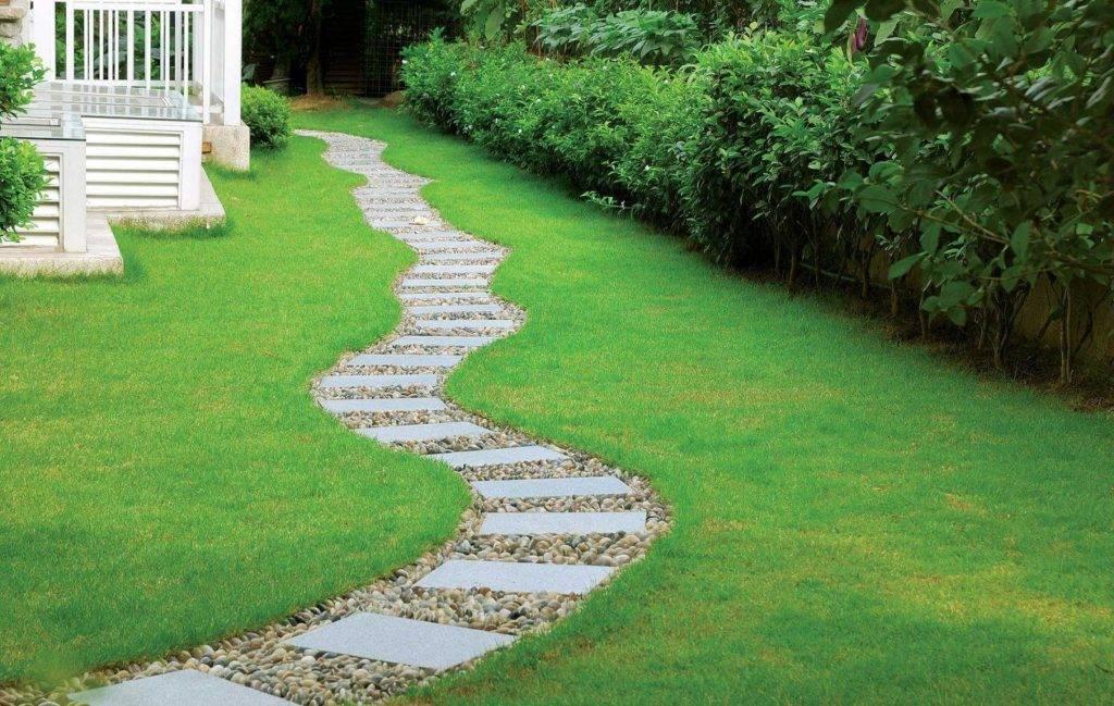 Плитка для дорожек на даче - универсальное покрытие (97 фото): клинкерная садовая дорожка, пластиковая и резиновая уличная плитка