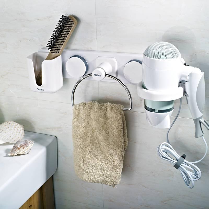Как найти место для фена в ванной
