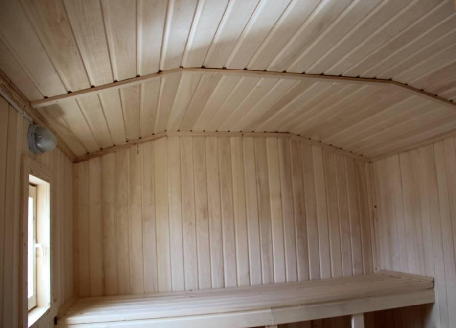 Особенности строительства бани из осины