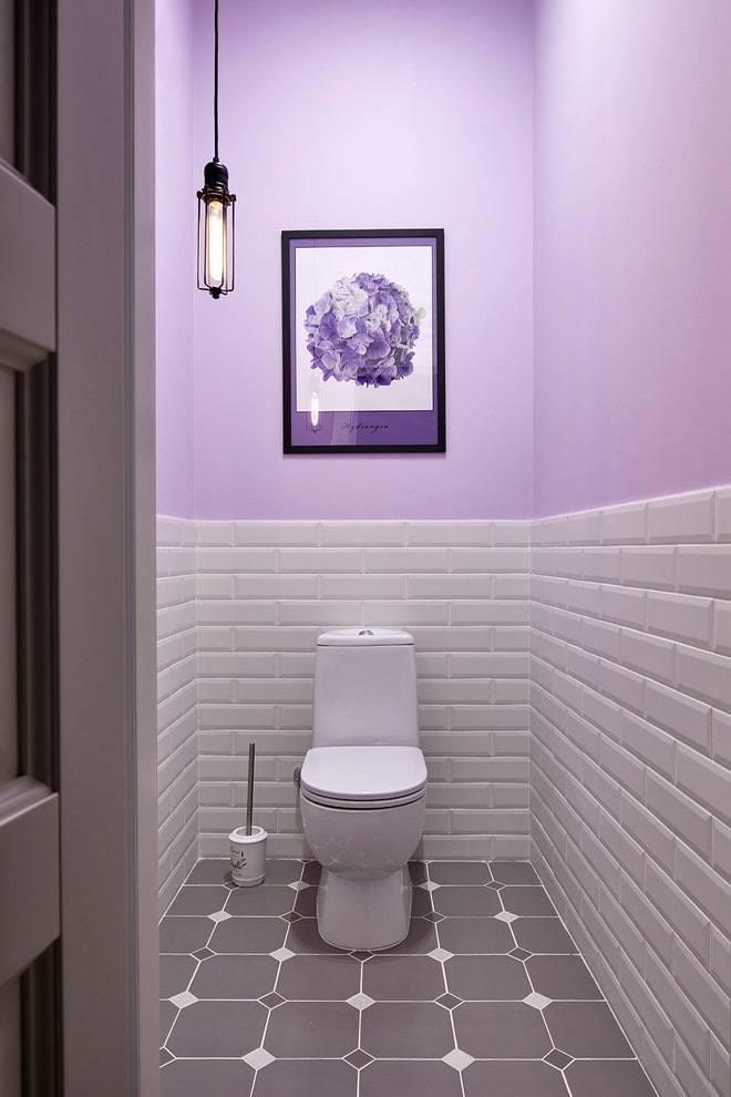 Дизайн туалета— современные идеи на2018 год сфото