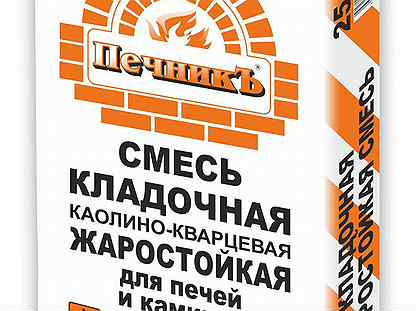 Кладочная смесь печник: характеристики, разведение, проведение работ   greendom74.ru