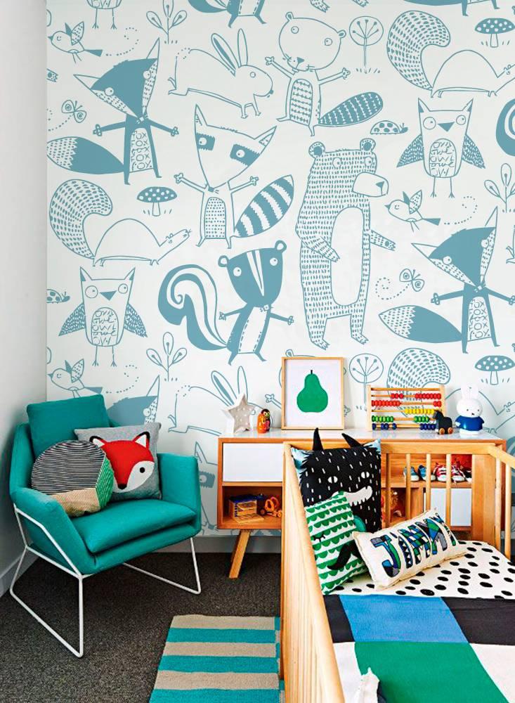 Рисунки на стене в квартире своими руками: самые интересные варианты