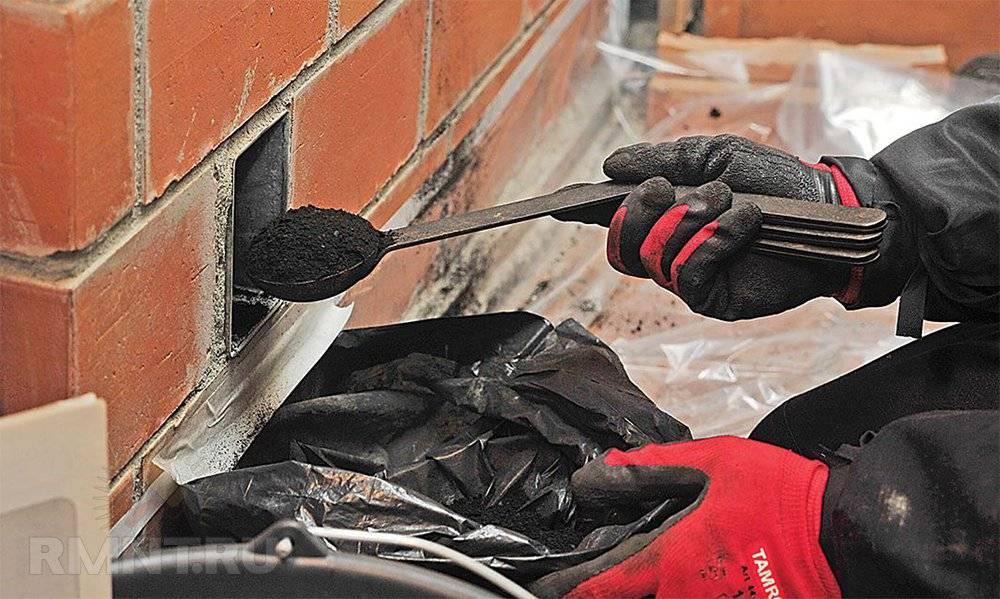Как почистить трубу дымохода в частном доме, все тонкости работы