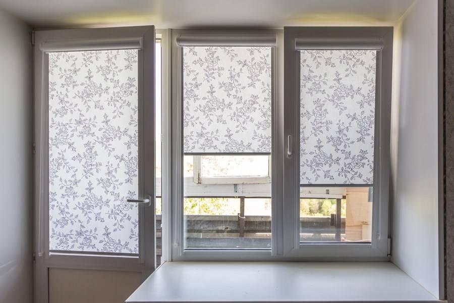 Шторы на пластиковые окна (55 фото): выбираем роликовые занавески с креплением без сверления