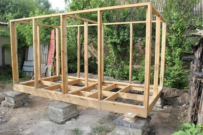 Как построить каркасную баню своими руками: подготовка, этапы работ, видео