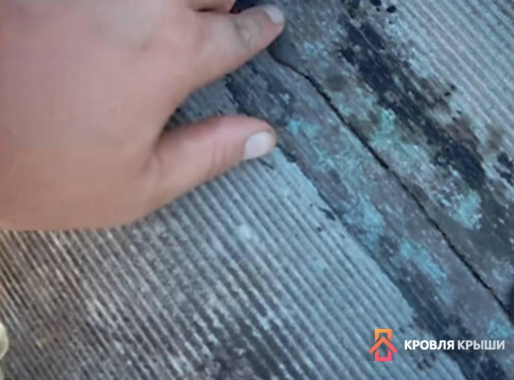 Способы ремонта шифера на крыше, какие материалы использовать