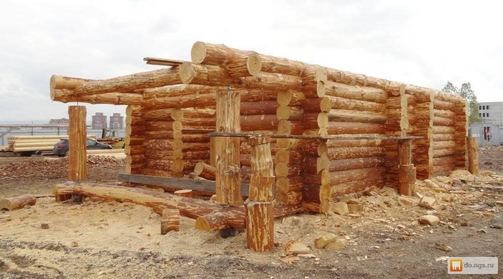 Минусы дома из современного оцилиндрованного бревна