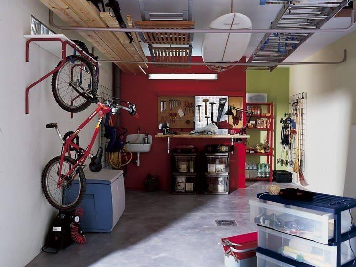 Обустройство гаража своими руками: как оборудовать просто и красиво