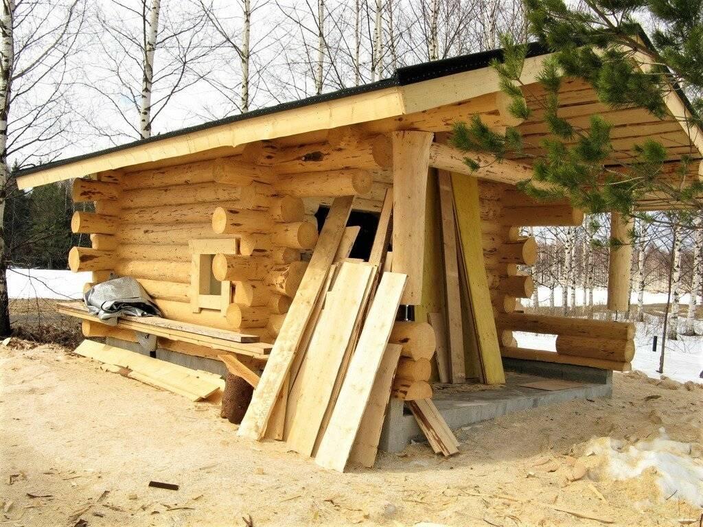 Как выбрать лесоматериал для строительства бани