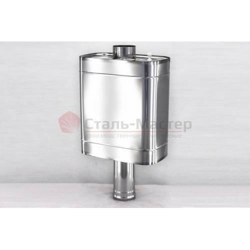 Бак для воды в баню: из нержавейки, для горячей и холодной воды, установка своими руками на трубу