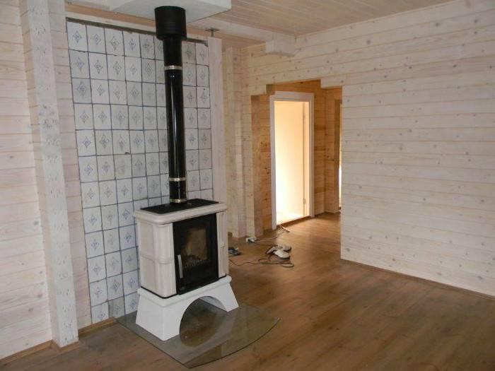 Как обустроить огнеупорную стену в бане или деревянном доме