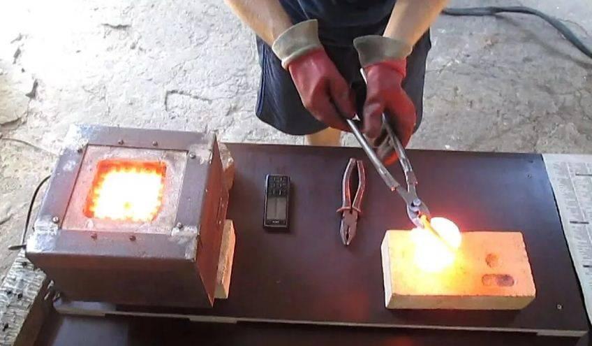 Экономия для кузнеца: делаем муфельную печь для закалки металла своими руками