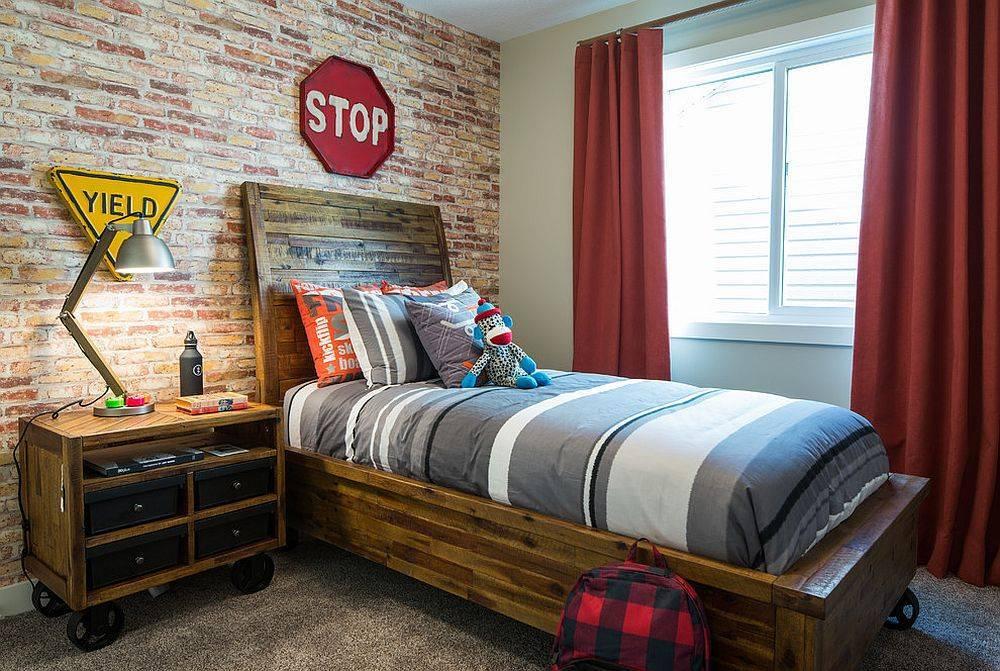 Интерьер комнаты для мальчика подростка: зонирование, выбор цвета, стиля, мебели и декора