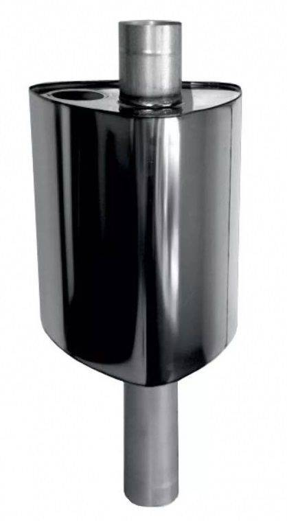 Бак на трубу для бани из нержавейки - монтаж и виды