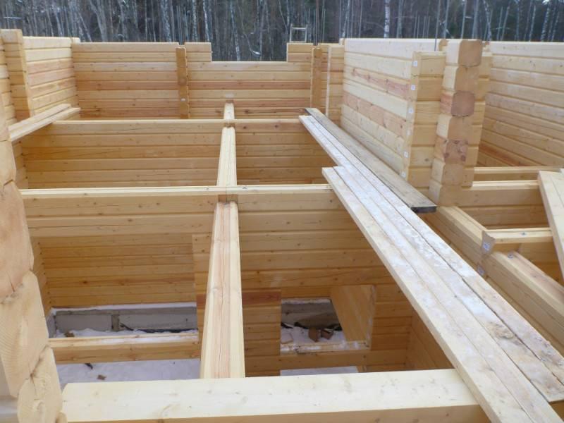 Баня из клееного бруса: технология строительства