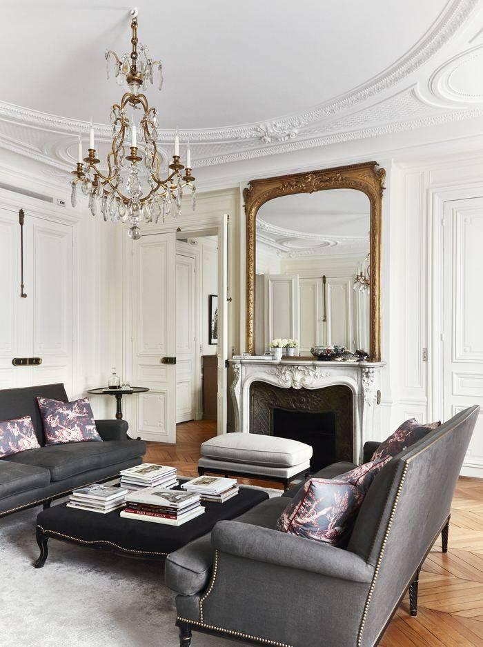 Houzz франция: двухуровневая квартира в париже для семьи с тремя детьми