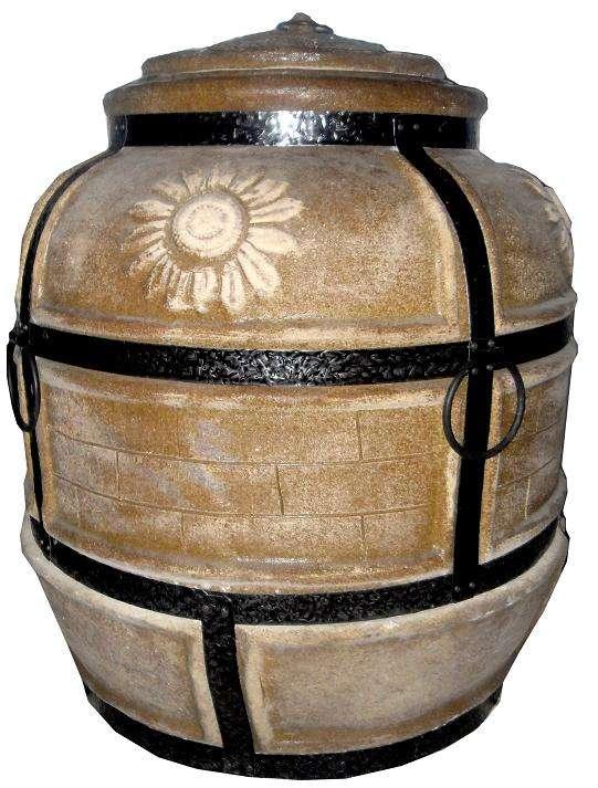 Узбекская печь для дома или как построить тандыр