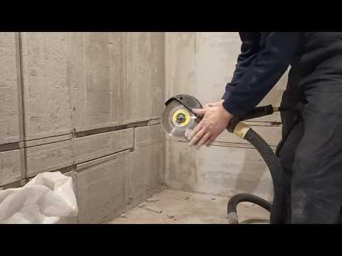 Как штробить стены под проводку без пыли - клуб мастеров
